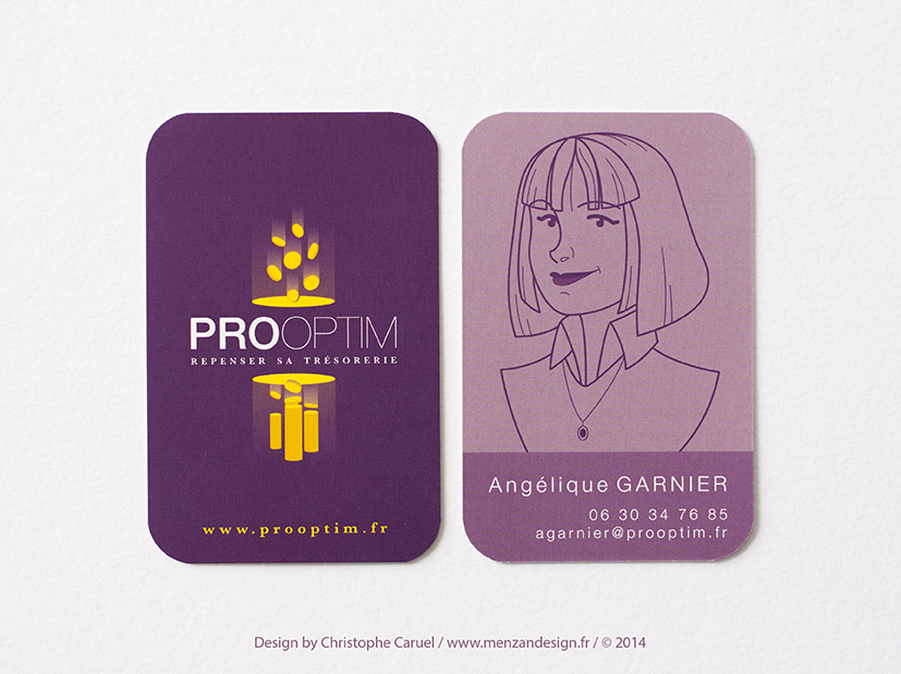 Carte de visite PROOPTIM